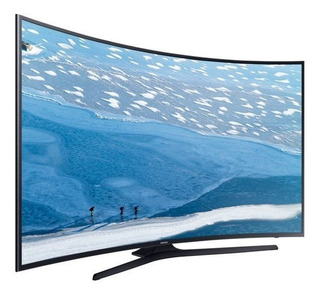 Samgsung 55 Uhd 4k Curved Smart Tv Ku6500 Serie 6500, Nueva
