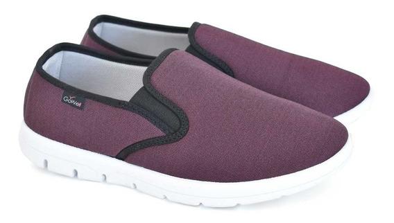Zapato Cerrado Dos Elásticos Hombre Pira Art 4250