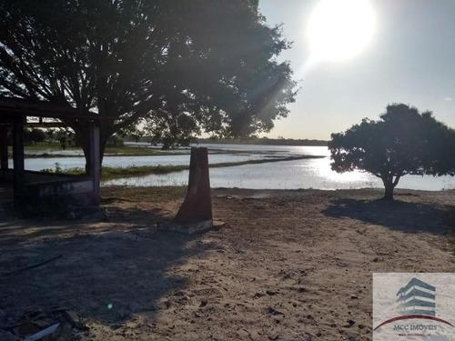 Chácara A Venda Beira A Lagoa Da Boa Água