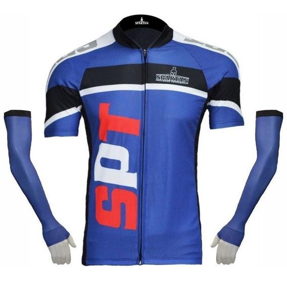 Camiseta + Manguito Spartan Ref 08 + Manguito Ref 06 Liso