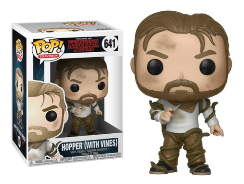 Funko Pop Hopper With Vines #641 Stranger Things