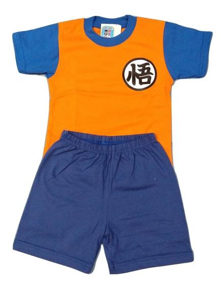Remera Mas Short Dragon Ball Z Goku