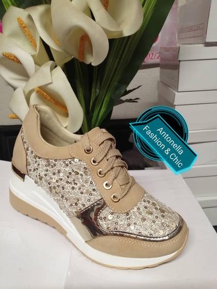 Zapatillas Caqui, Zapatos Para Dama