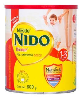 Nestle Nido Kinder Mis Primero Pasos 1-3 Años 800 G