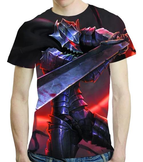 Camisa Anime Camiseta Berserk - Estampa Total 03