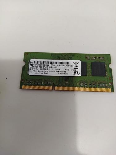 Imagem 1 de 3 de Memória Ram Smart Sh564128fj8nwrnsqg Pc3l 12800s 4gb