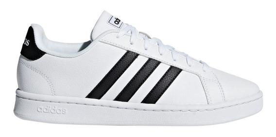 Zapatillas adidas Grand Court Bla/ray Neg De Hombre