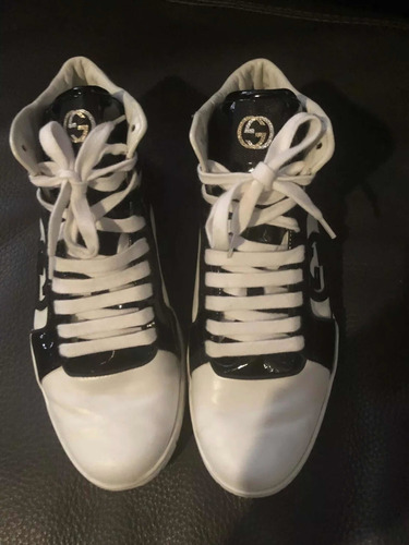 Gucci High Top 8uk/40br - Limited Edition Rebound Snakeskin
