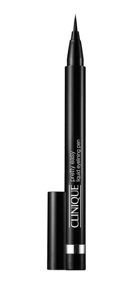 Pretty Easy Liquid Eyelining Pen Clinique - Delineador Black