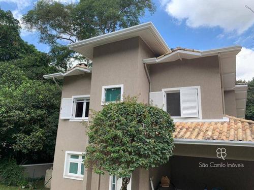 Casa Residencial À Venda, Granja Viana, Aldeia Da Fazendinha, Carapicuíba - Ca0051. - Ca0051
