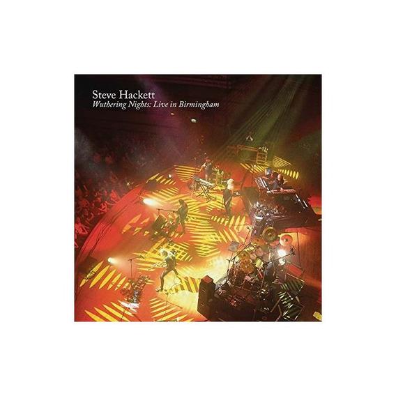 Hackett Steve Wuthering Nights Live In Birmingham Cd X 3