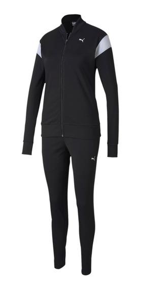 Agasalho Puma Tricot Suit Feminino 582565 Preto