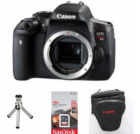 Câmera Canon T6i (corpo) + Memória 32gb + Bolsa + Mini Tripé
