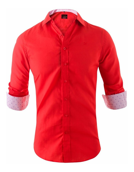 Camisa Entallada Slim Fit Z410 - Quality Import Usa