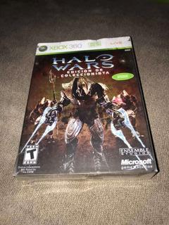 Halo Wars Edición De Coleccionista!!!