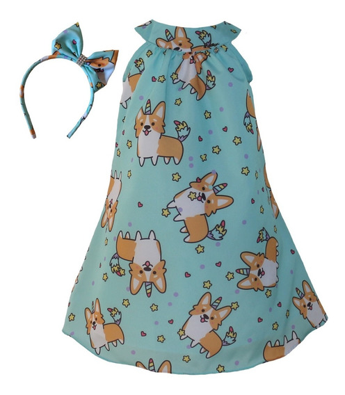 Vestido Infantil Festa Tam: 1 Ao 4 De Estrela Katitus