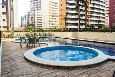 Apartamento Em Meireles, Fortaleza/ce De 110m² 3 Quartos Para Locação R$ 3.500,00/mes - Ap251060