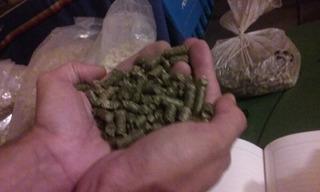 Pellets De Alfalfa Granulada - Bolsa De 1 Kilo