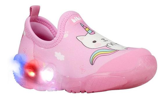 Zapatilla De Unicornio Para Niña ! Bibi !