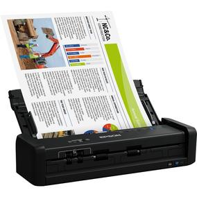 Scanner Wireless Duplex Portátil Epson Workforce Es-300w