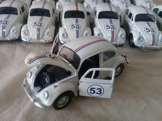 Miniatura Fusca Herbie 1/32 Metal