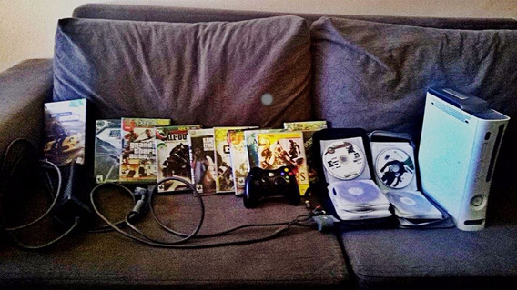 Xbox 360 Branco 160gb De Memória
