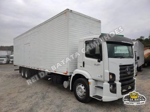 Imagem 1 de 15 de Volkswagen Constellation 24.280 Truck Baú 11 Metros Revisado