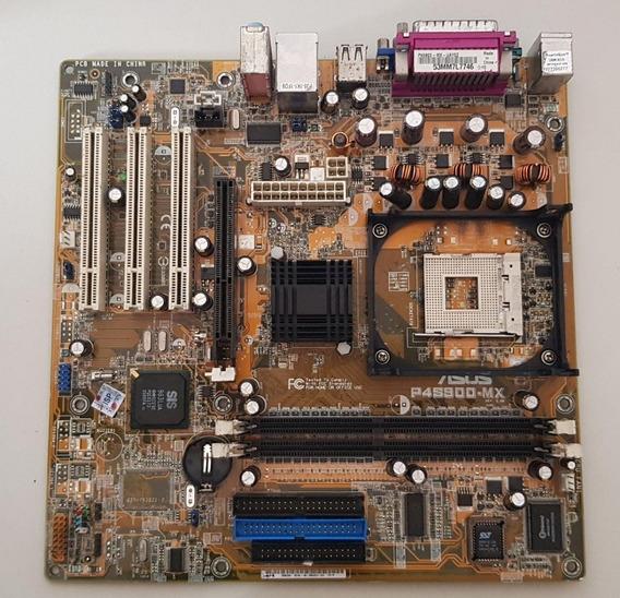Placa Mãe Asus P4s800-mx Sucata Ref: 02864