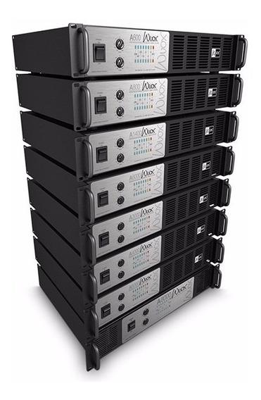 Amplificador Wvox A8000 - Melhor Preço! (brinde 1 Cabo Xlr)