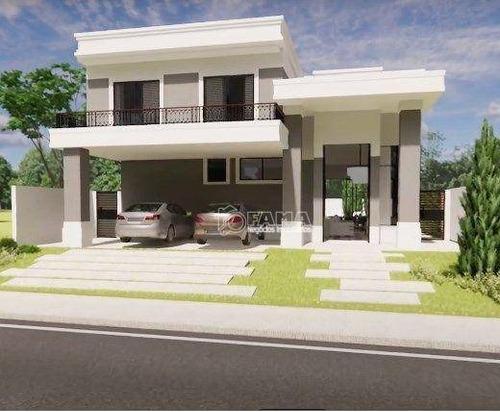 Imagem 1 de 7 de Casa À Venda, 350 M² Por R$ 2.600.000,00 - Residencial Villa Bella Florença - Paulínia/sp - Ca2305