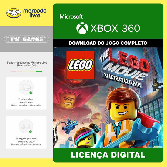 Lego Movie Videogame Xbox 360 Digital