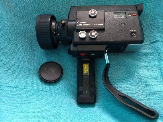 Câmera Filmadora Canon Auto Zoom 512xl Japão Manual Raridade