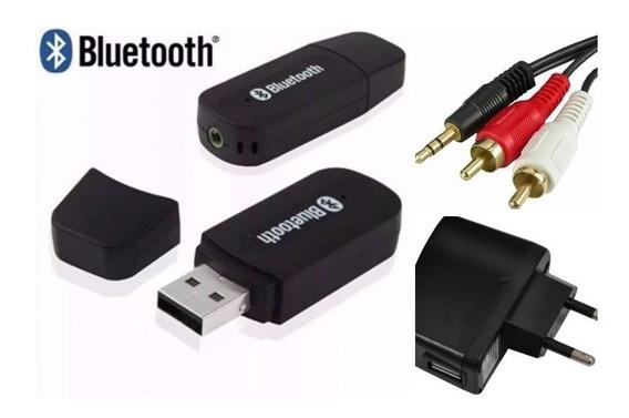 Kit Receptor Adaptador P2 Bluetooth P/ Caixa Som Amplificada