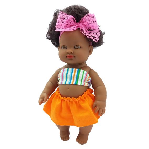 Boneca Meninas Fashion Negra Zap - 1025