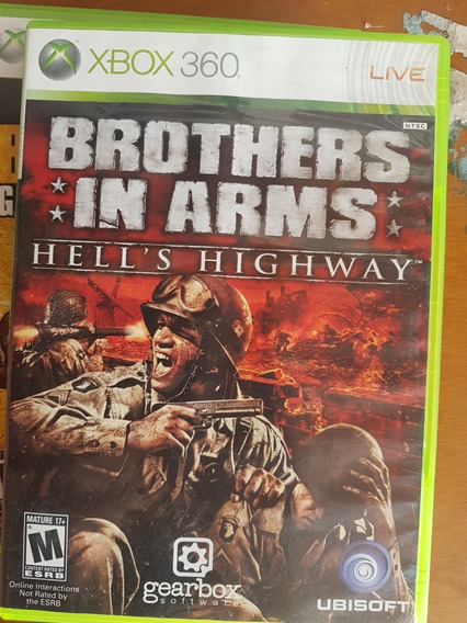Brothers In Arms Hell Highway Original Xbox 360