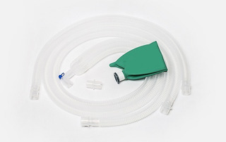 Circuito Anestesia Corrugado 150cm Pediátrico+75cm+bolsa 1,0
