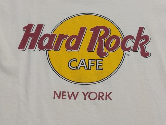 Remera Hard Rock Café New York Estados Unidos Talla Xl Niño