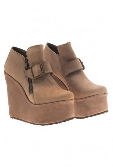 Zapatos Mary Joe Loom Visón, Cuero! Di-vi-nos!
