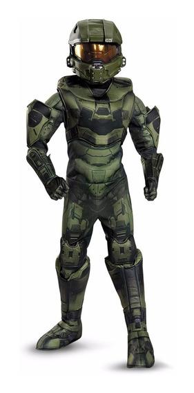 Disfraz Halo Deluxe Original Talla 7-8 Años Entrega Inmediat