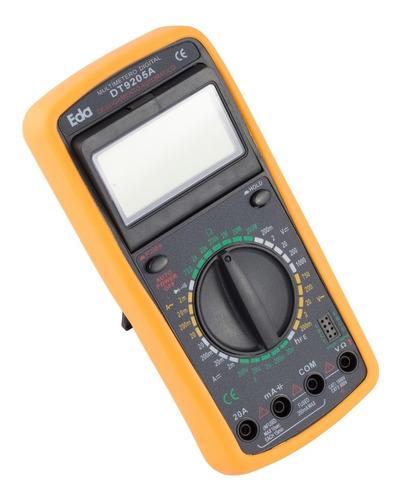 Imagem 1 de 3 de Multímetro Digital Com Função Capacímetro E Continuidade