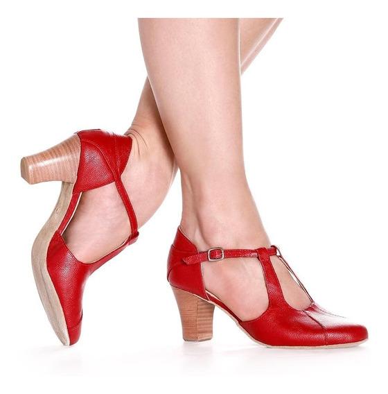 Sapato Para Dança-só Dança- Salto 7cm-bl59