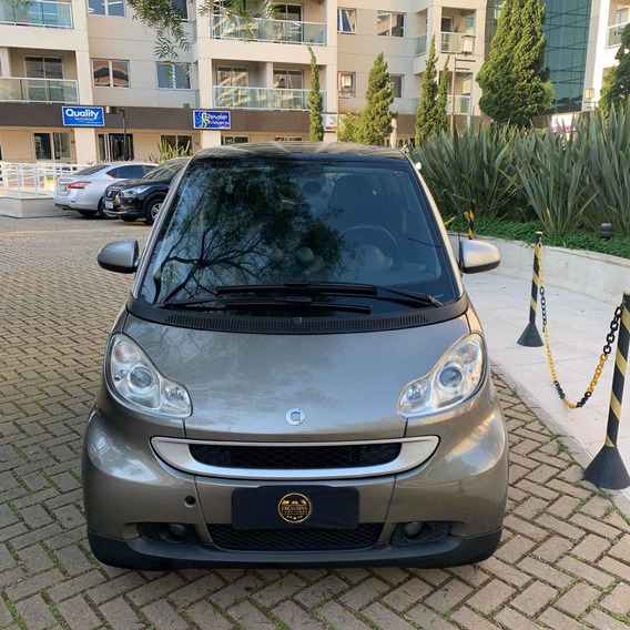 Smart 2p Fourtwo Coupe Passion 1.0 2010 Cinza Impecável
