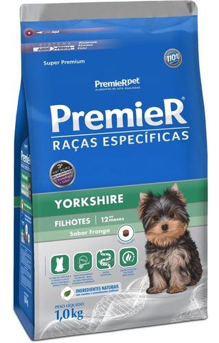 Ração Premier Raças Específicas Yorkshire 1kg Filhote