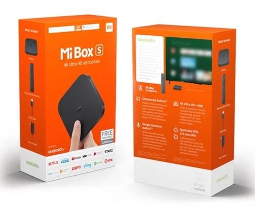 Xiaomi Tv Box S Android Tv 4k Ultra Hd Chromecast 4k