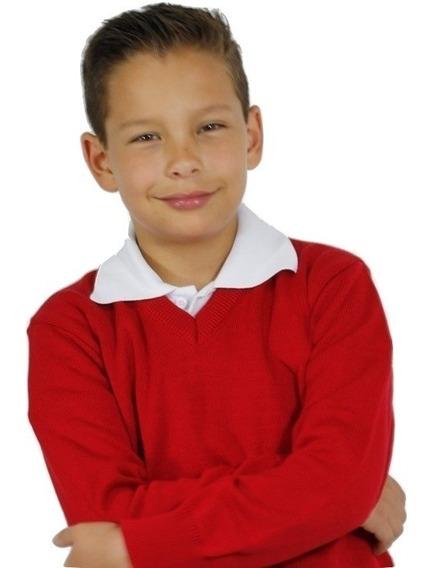 Sweater Dralon Promo Escolar...x 2..!!!! T.6/16 Envio Grati