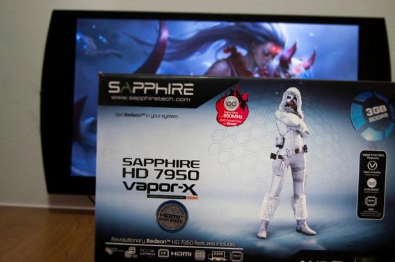 Placa De Video Radeon Hd 7950 Vapor X 3gb Gddr5