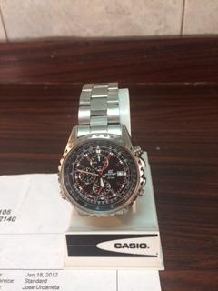 Reloj Casio Edifice 527 De Caballero 100% Original