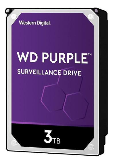 Disco rígido interno Western Digital WD Purple WD30PURZ 3TB roxo