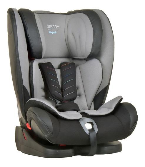 Cadeira Auto Bebê Strada 9-36 Kg Reclinável Gray Black Cinza