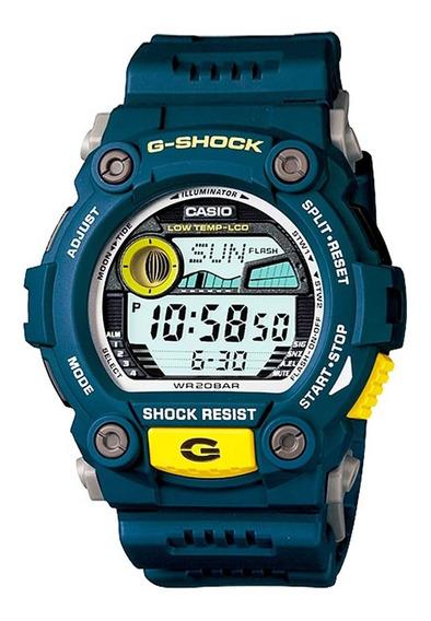 Relógio G-shock G-7900-2dr C/ Tabua De Marés